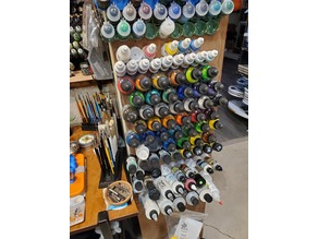 P3 paint and ink storage racks