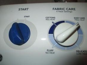 Dryer Start Knob