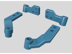 Wanhao Duplicator I3 simple rear Z braces