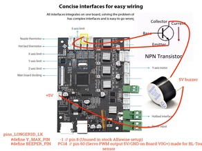 Alfawise U30 buzzer connection