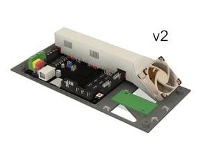 Bigtreetech SKR 1.3/1.4 mounting bracket for Sovol 3D SV01 UPDATE: v2