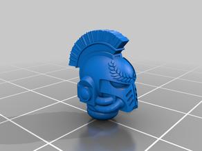 Ultramarine Helmet with Crest