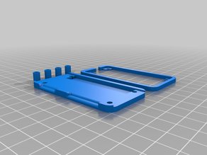 Protective frame for Pimoroni Pirate Audio and Raspberry Pi Zero (W/WH)