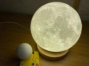 NASA CGI Moon Kit 2019 Moon Lamp