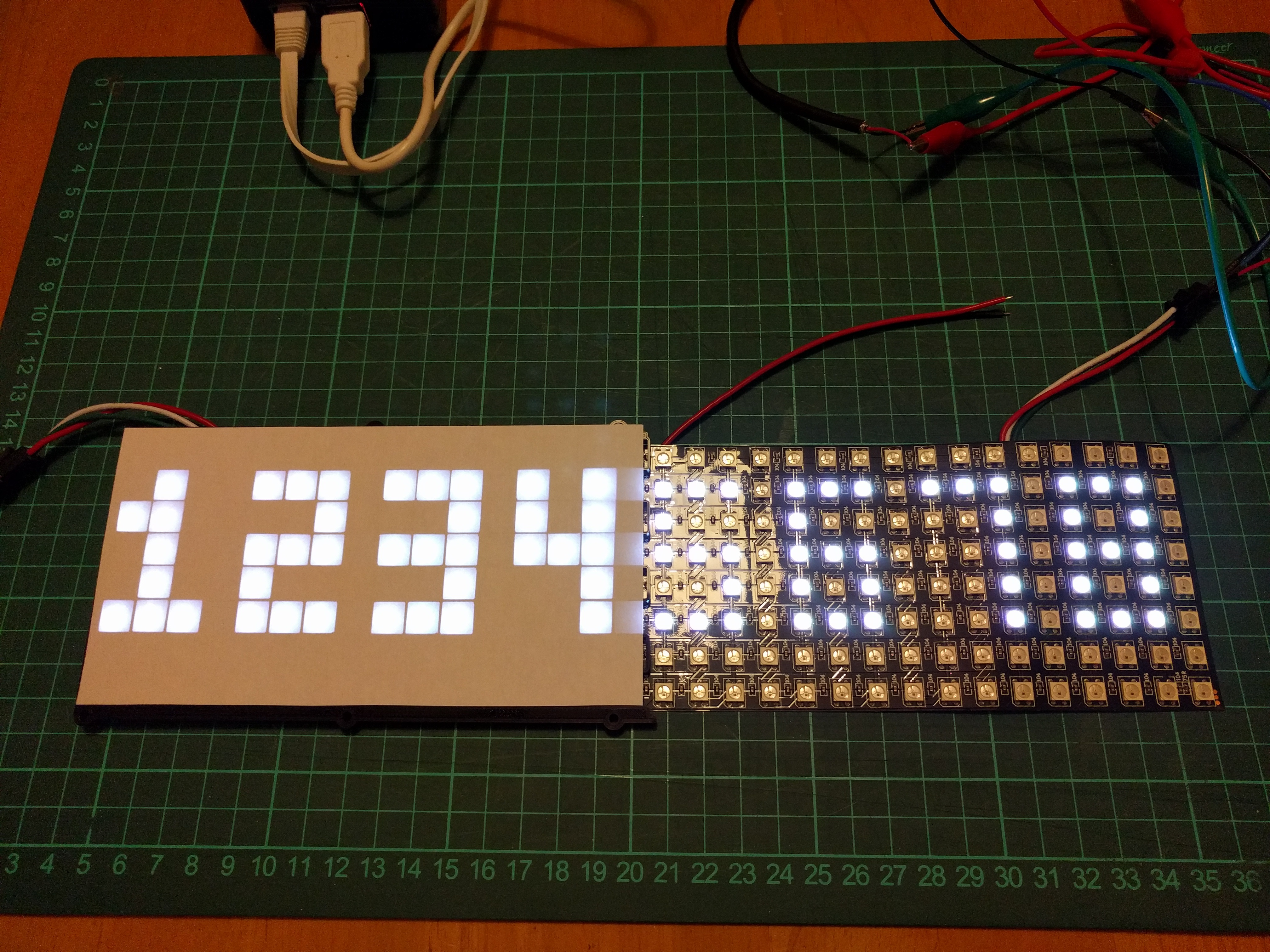 How to connect multiple RGB LED Matrix - Raspberry Pi Forums