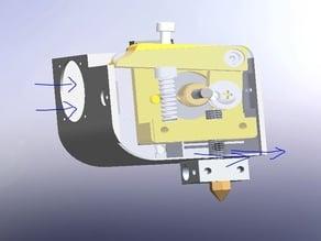 kubat3D direct drive mks8 extruder