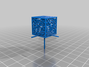 Large Maze Cube (and solution) [updated]