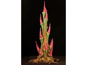 """Tabletop plant: """"Rhododendron Nostril 3"""" (Alien Vegetation 27)"""