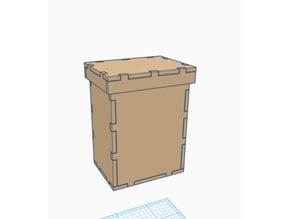 Simple Laser Cut Deck box