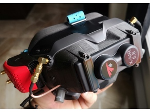 DJI FPV Goggles X-Air Faceplate integration