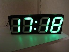 Digital-Uhr klein (mit Scoreboard / Luftfeuchte und Temperatur)