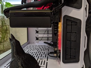 Asus X570 TUF motherboard led diffuser