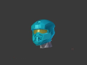Halo Reach - EOD Helmet (without Re-Breathers)