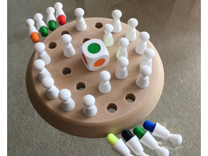 Coloured Peg Memory game