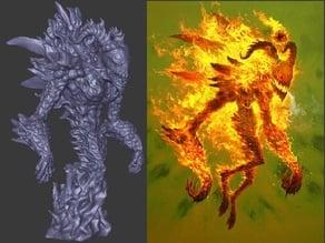 Gloomhaven Flame Demon