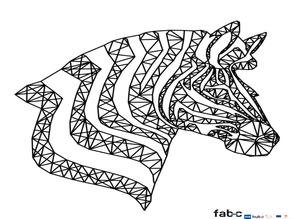 Zebra Type LowPoly