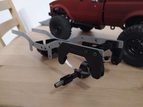 WPL C14 C24 leaf spring rear module