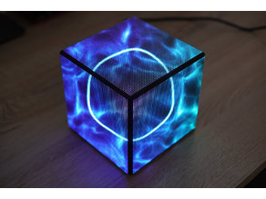 LED Cube CPU monitor