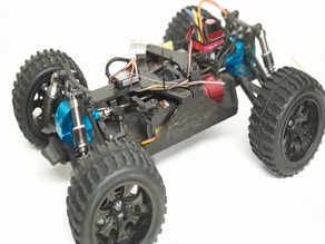 Open RC Truggy All Metal Diffs