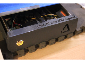 Discoeasy200 Upgraded Front face / Façade avant
