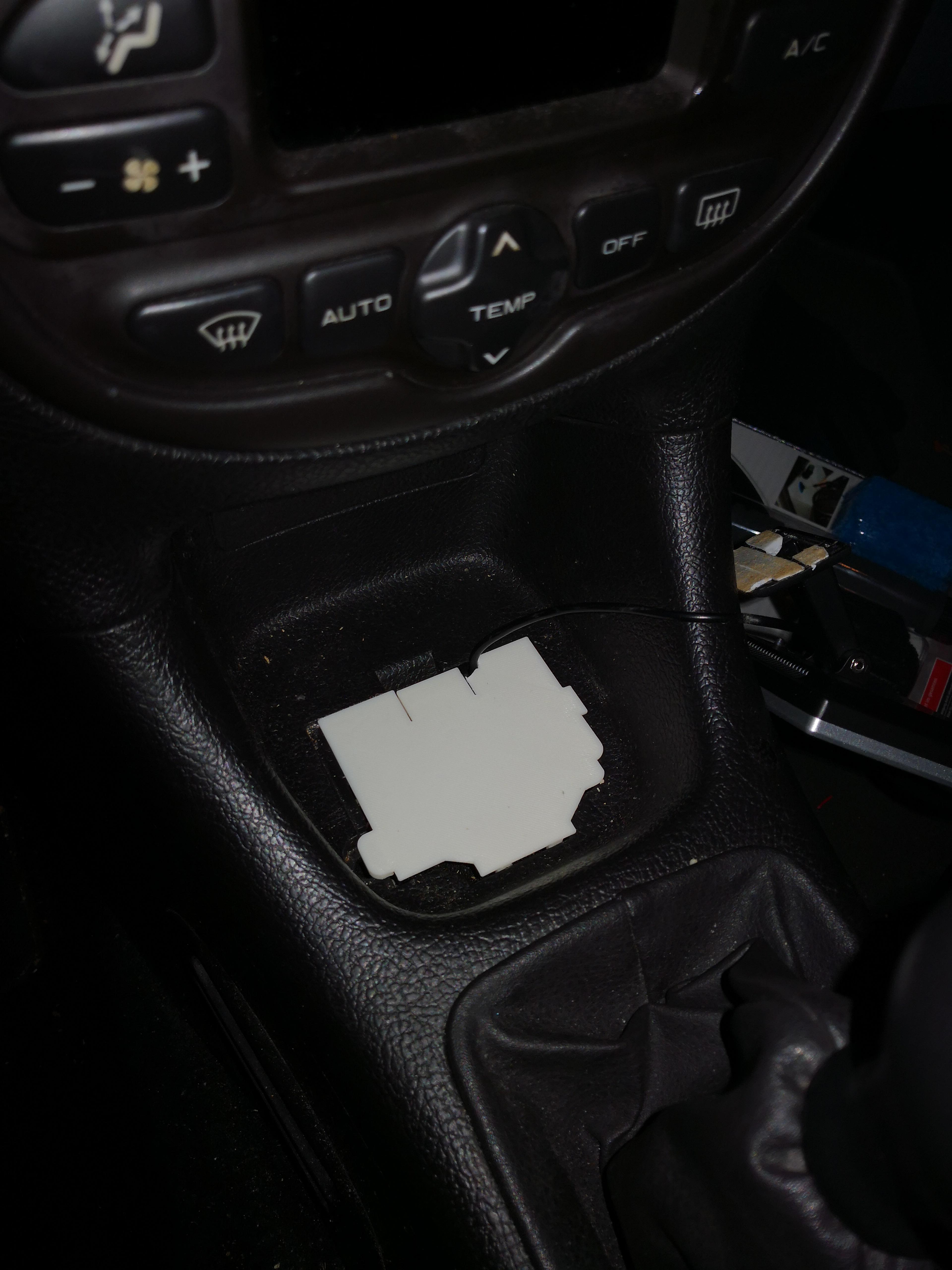 Peugeot 206 Ashtray Black