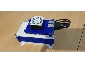 Modular Raid Disk enclosure for single boards