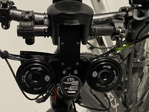 Dual-Tone Car Horn for Bicycle
