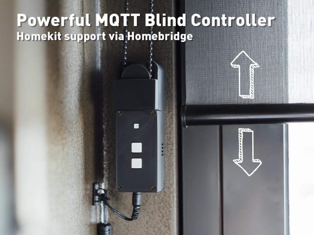 Powerful MQTT Blind Controller
