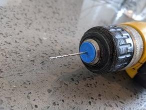 Tiny drill bit collet for regular drills