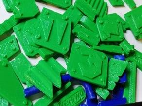 Ork Scrap Yard Rubble - Basing Bits