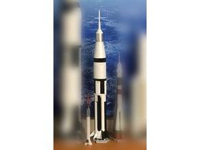 NASA Saturn IB, 1/200 scale