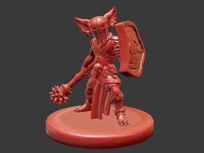 Goblin Cleric Miniature