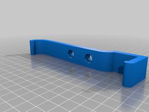 Swivel out/away sim rig keyboard mount