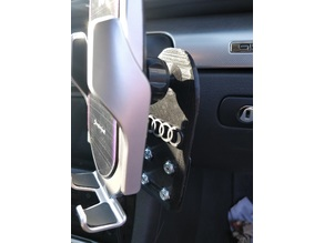 Phone Cradle mount for B7 A4 with Panavise 75102-607