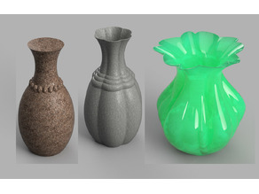A pile of different Vases