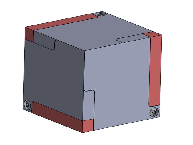 Modular Origami Magic Rose Cube Folding Instructions | 472x628