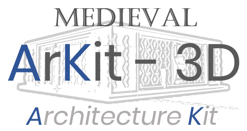 ARKIT - 3D - Medieval 2nd Floor