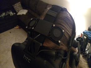 Vive Leaf - A VR headset cooler similar to Vive N' Chill