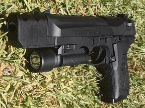 SKD Beretta M92 Compensator for Gel Blaster