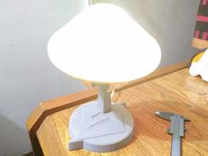 Metroid desk Lamp