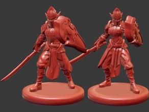 Elf Soldier Miniatures