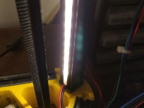 LED Light Diffuser for 2020 Ally Extrusion