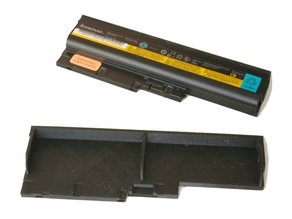Battery compartment cover for Thinkpad T60