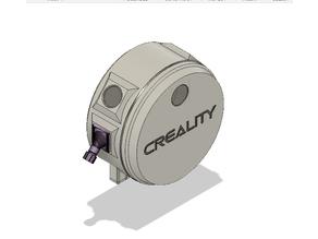 Covered Filament Spool Holder - Version 2