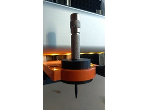 cnc holder for automatic centre punch