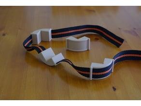 Strap clamp corner pieces 25mm