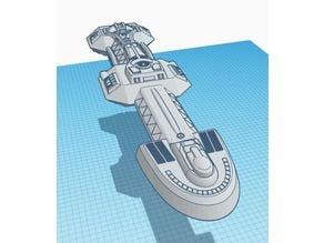 Cardassian Dreadnought Scientific Research Ship