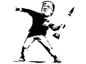 Donald Trump stencil 3