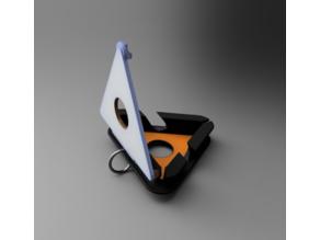 Travel Earphone Case + Phone Stand
