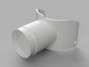 Adapter Makita RT0700 auf/to Festool Cleantec - dust extractor